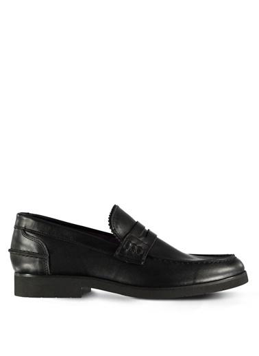 % 100 Deri Düz Casual Ayakkabı-Marjin